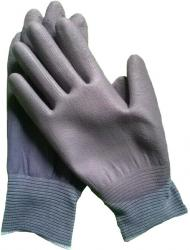 GRAY PU PALM COATED GLOVES HMBT-49