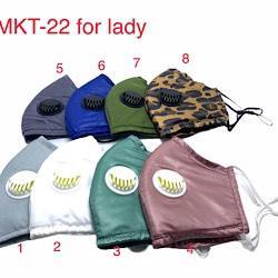 KHẨU TRANG VẢI 3 LỚP HMKT-22 for lady